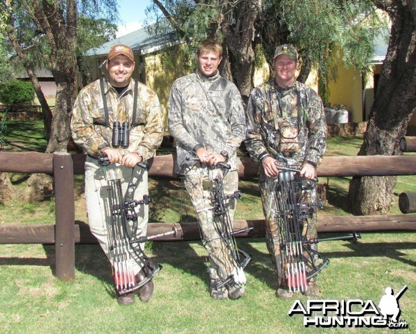 Bowhunters Myself, Andries Oosthuizen & Louis Nel