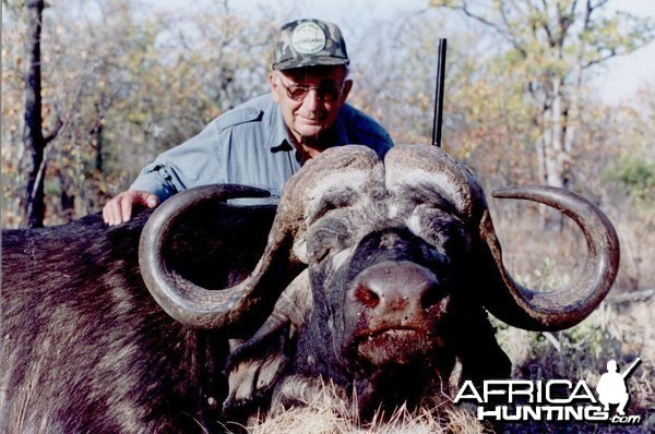 Hunting Buffalo with Wintershoek Johnny Vivier Safaris in SA