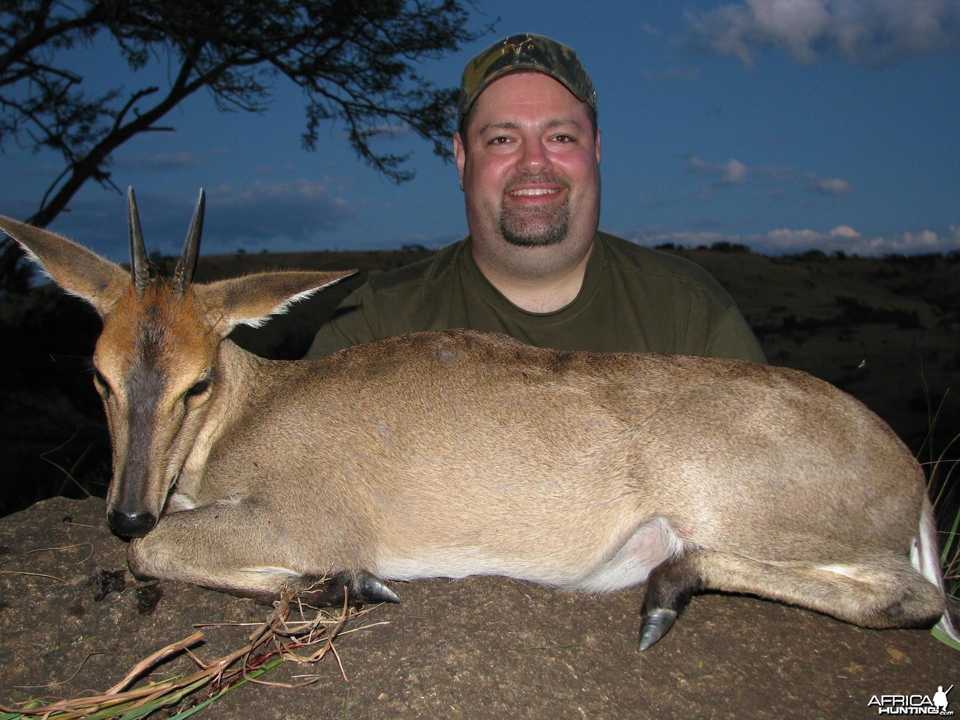 Hunting Duiker in Kwa-Zulu Natal, SA