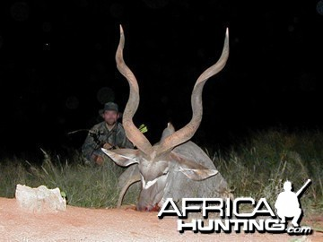 Bow Hunting Greater Kudu in Namibia