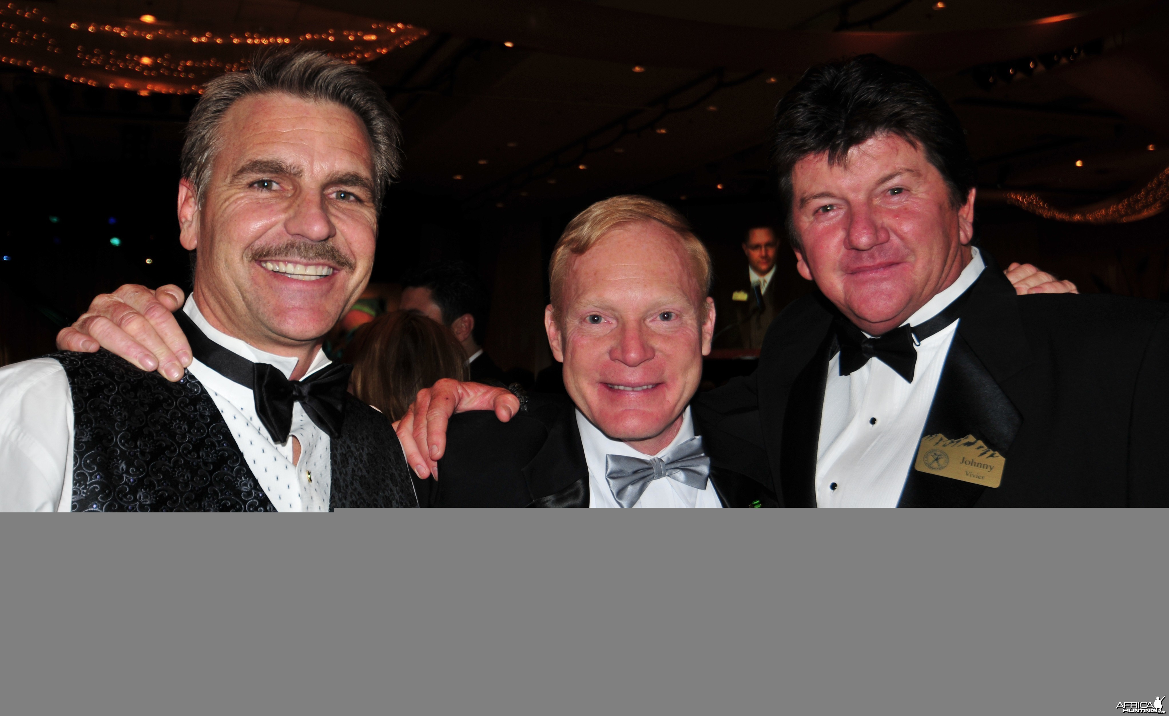 Mike Rogers, Craig Boddington and Johnny Vivier