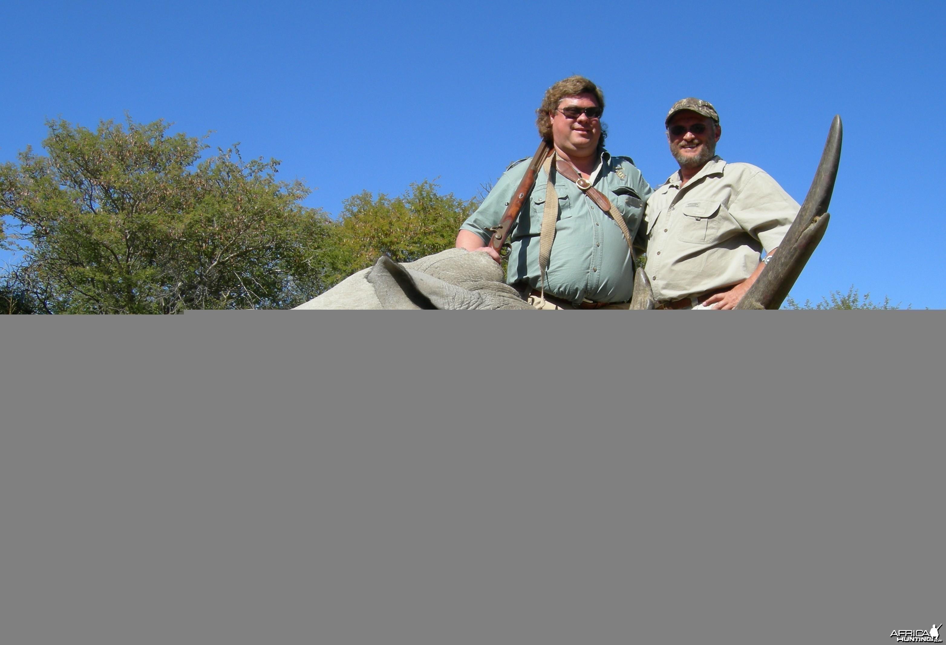 White Rhino Hunt
