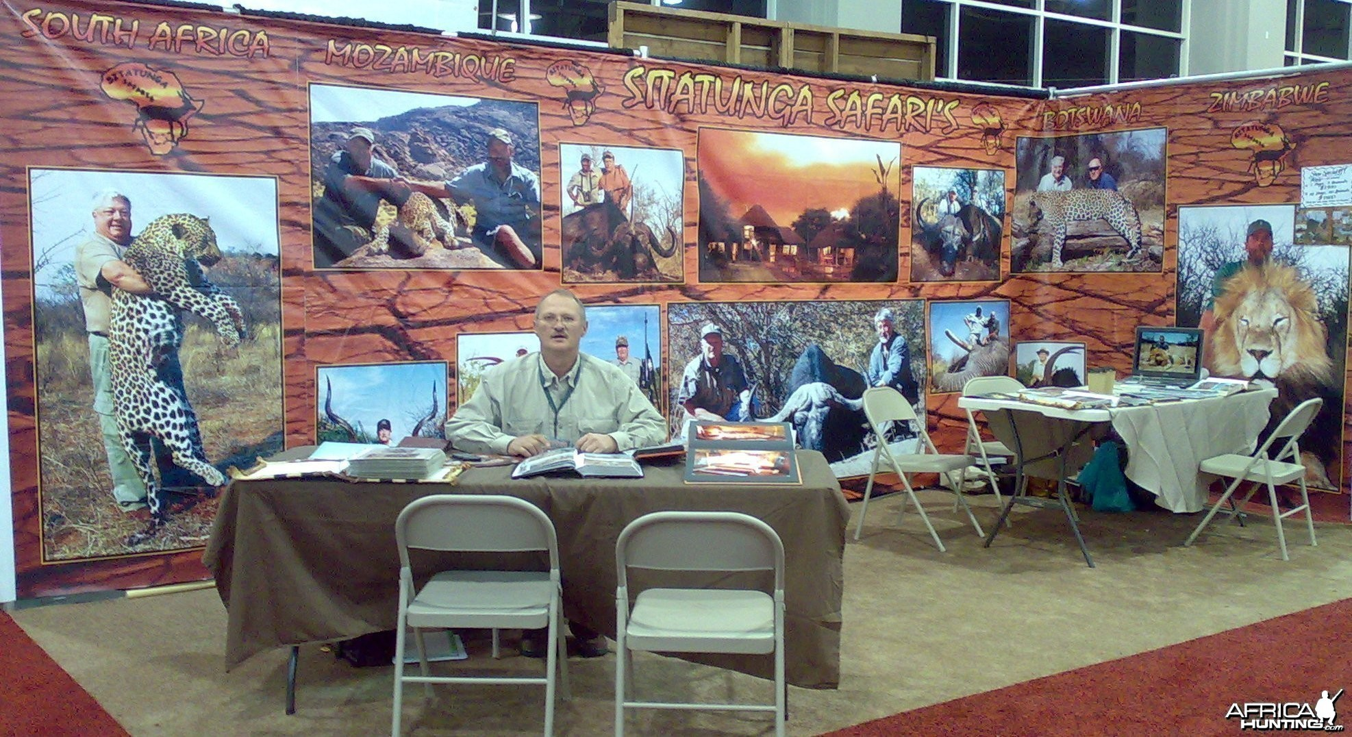 Sitatunga Safari Booth at SCI Show