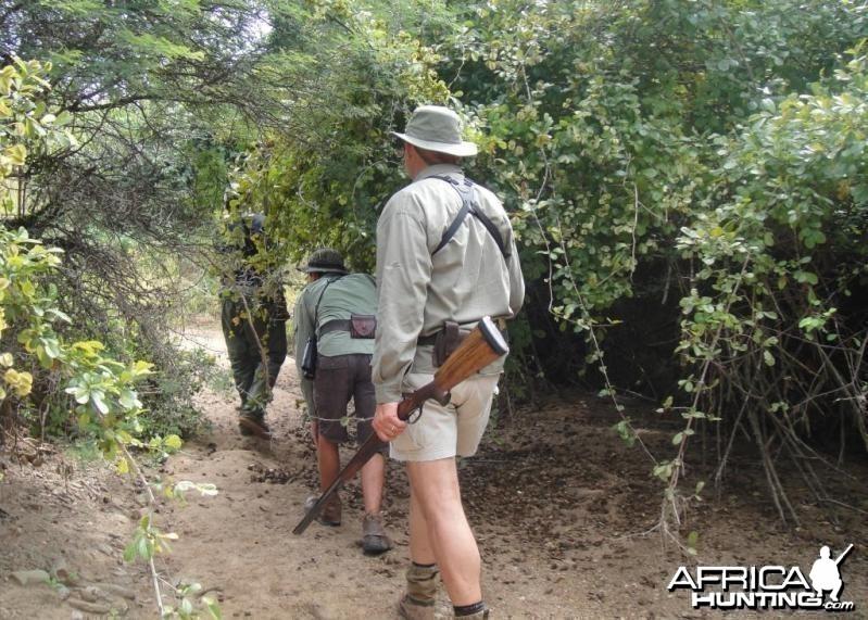 Scouting in Zimbabwe