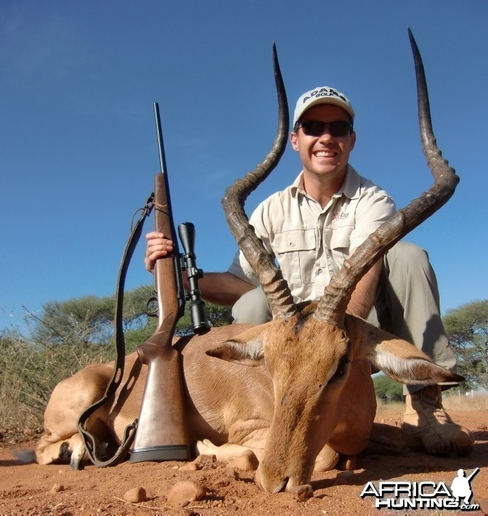 Impala ram I shot in Limpopo Province of SA
