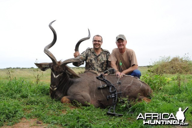 49.25 inches Eastern Cape Kudu Bull