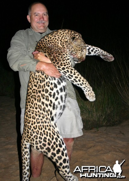 Leopard Hunt with Martin Pieters Safaris and Shaun Buffee