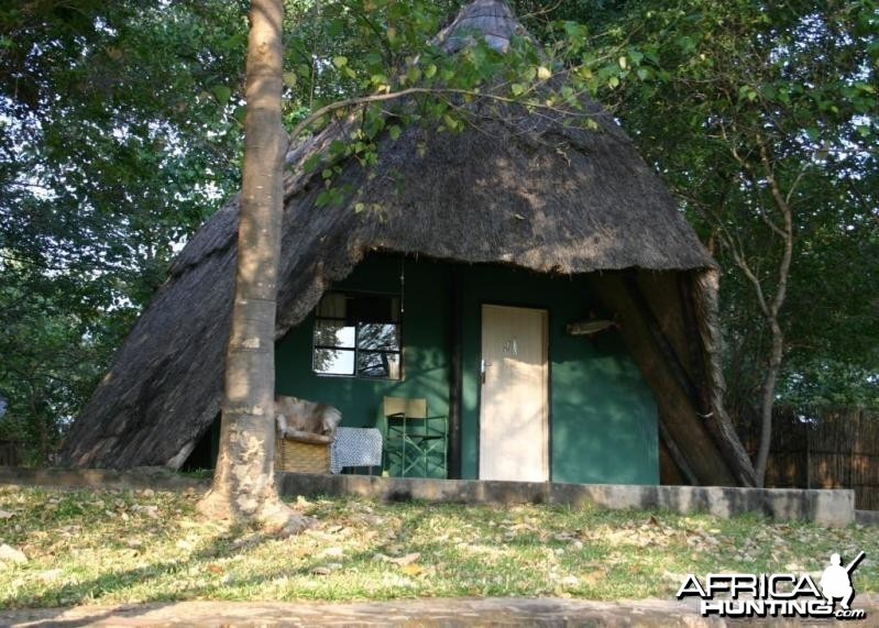 Our Chalet at Camp in Zimbabwe