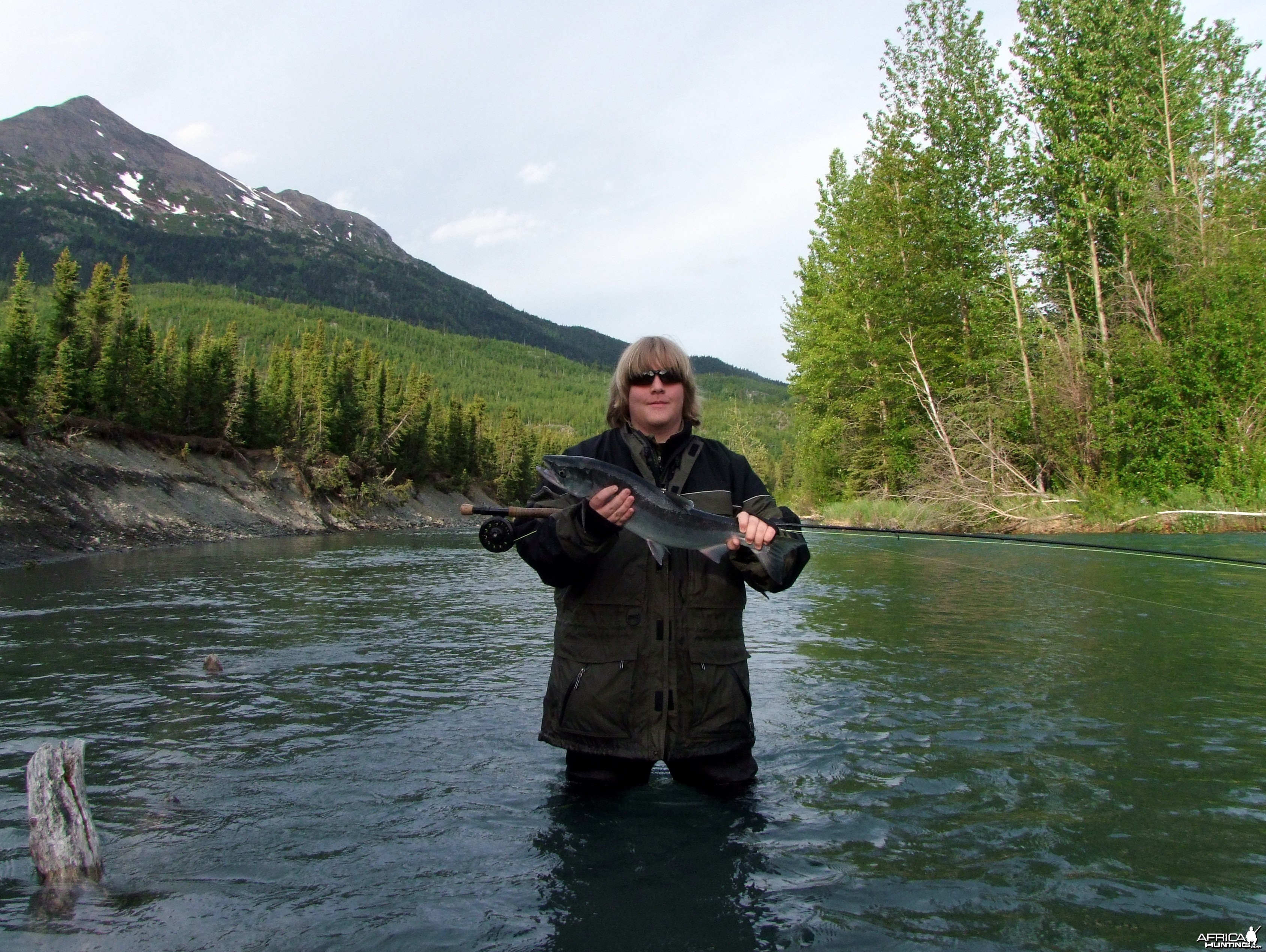 Alaska 2010 Kenai River Red