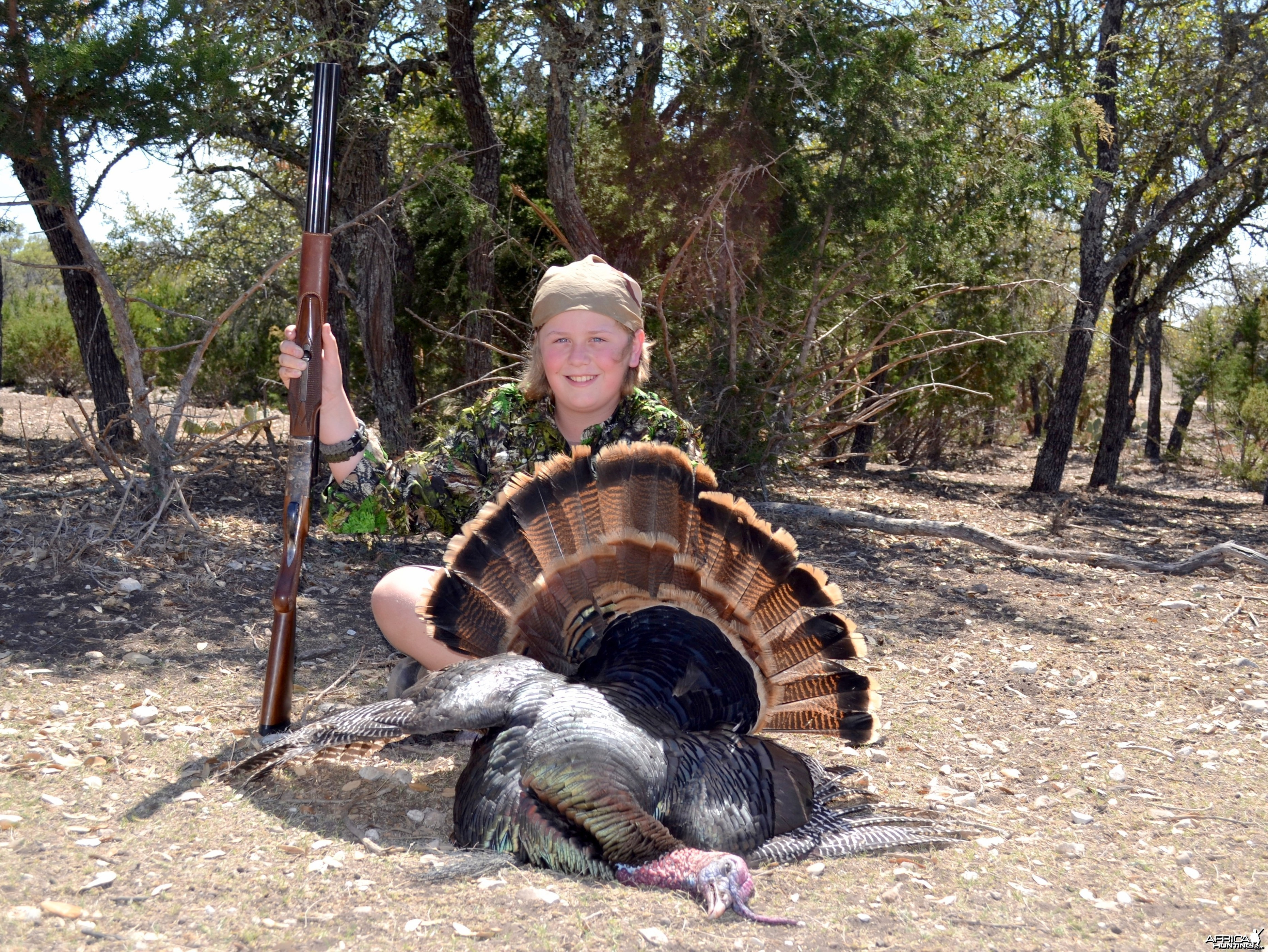 Turkey Texas 2011 Hunter