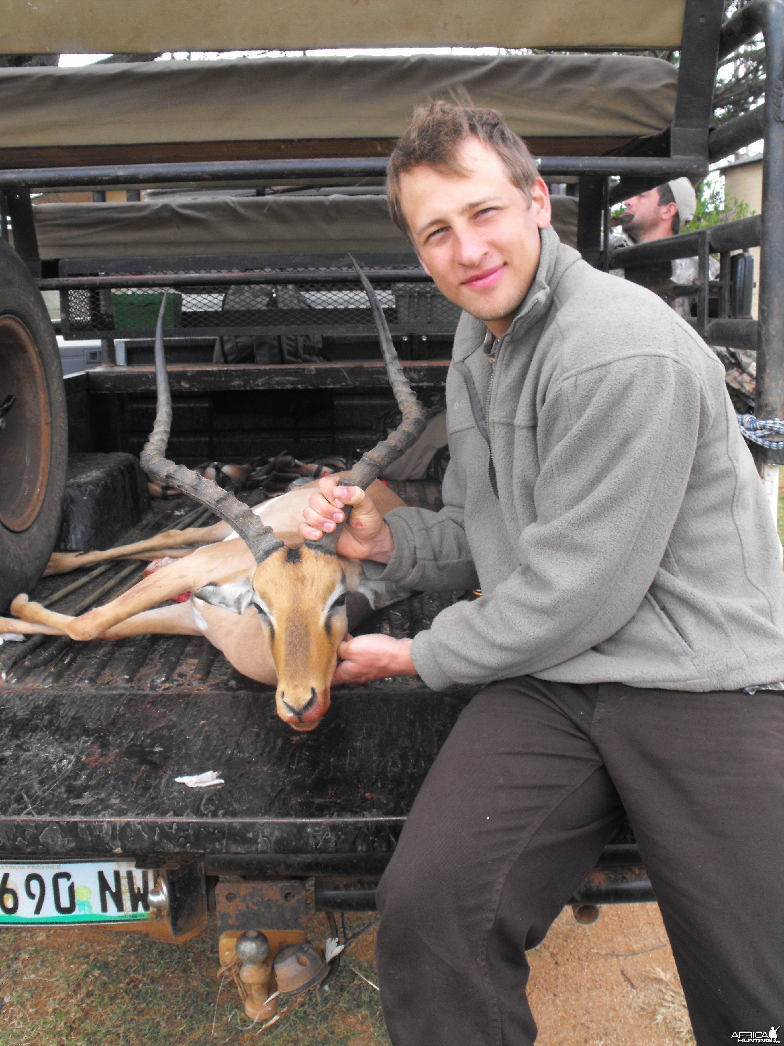 My bro and his sweet, last day Impala ram!