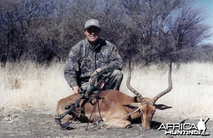 Bow Hunting Impala in Namibia