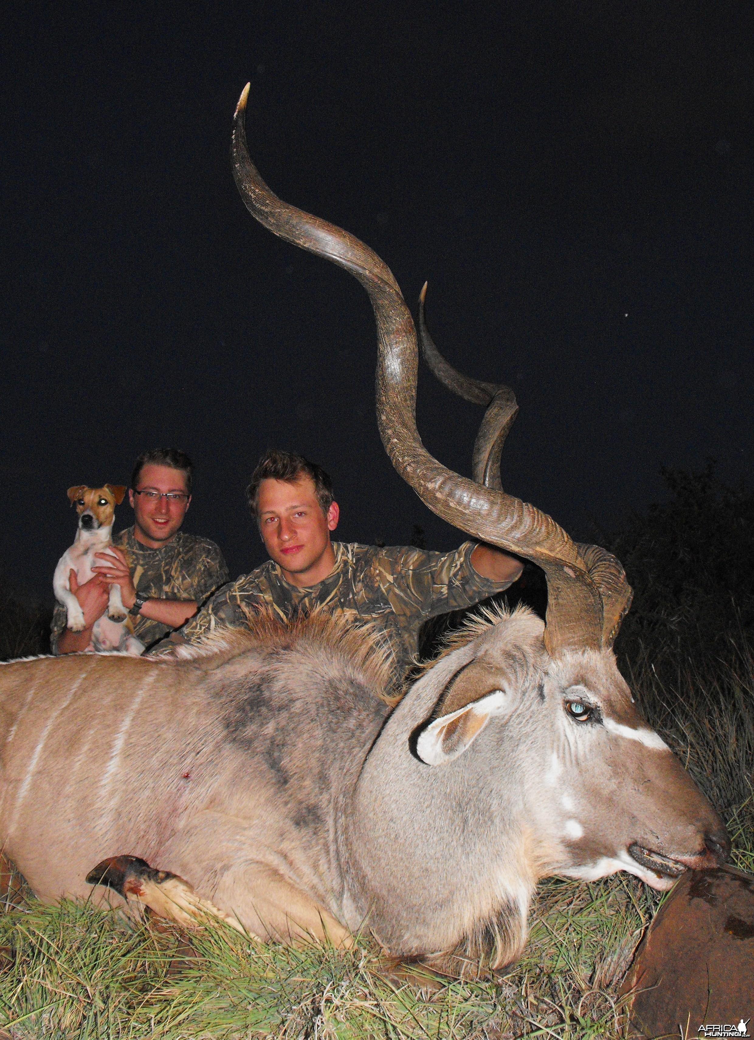 Sweet Kudu hunt!