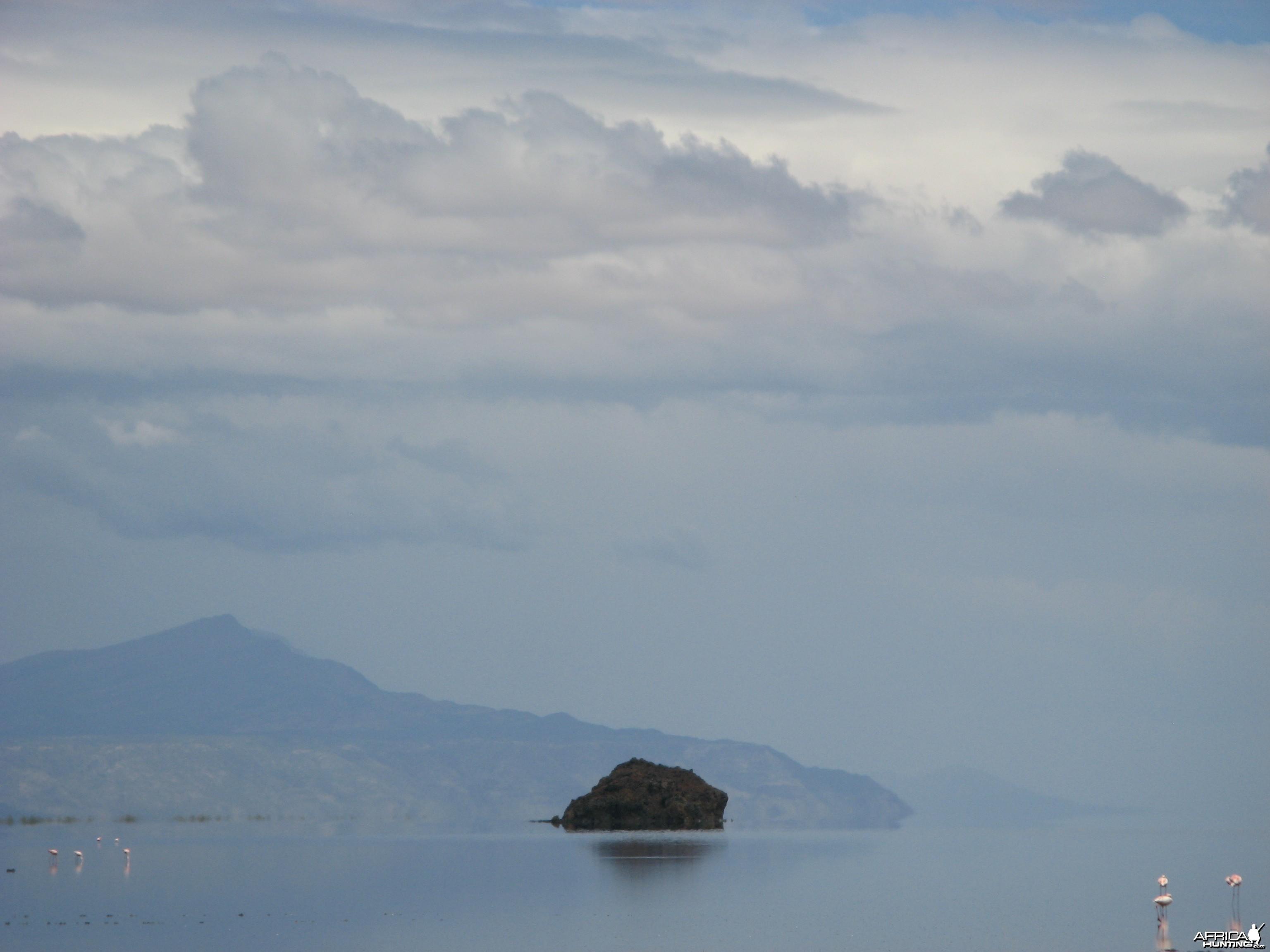 Lake Natron, Tanzania.