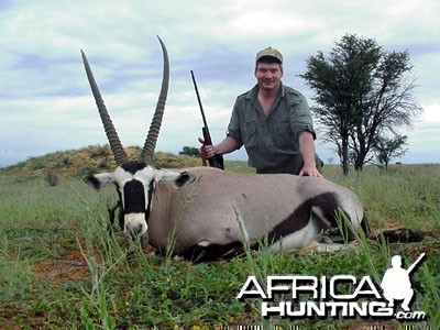 "Namibia - Gemsbok 40"" Male"