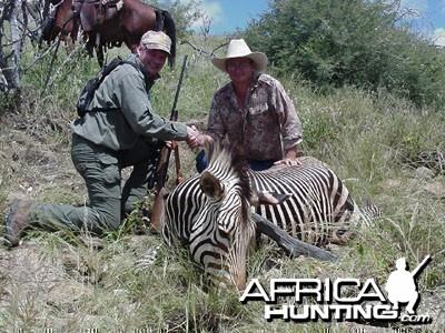 Namibia - Mtn Zebra