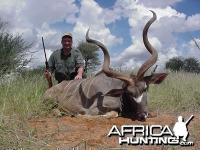"""Namibia - 51"""" Kudu"""