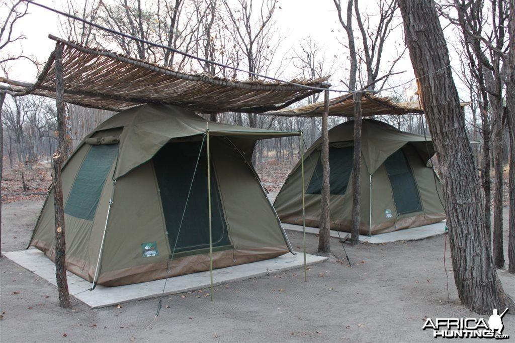 PH tent Caprivi Namibia