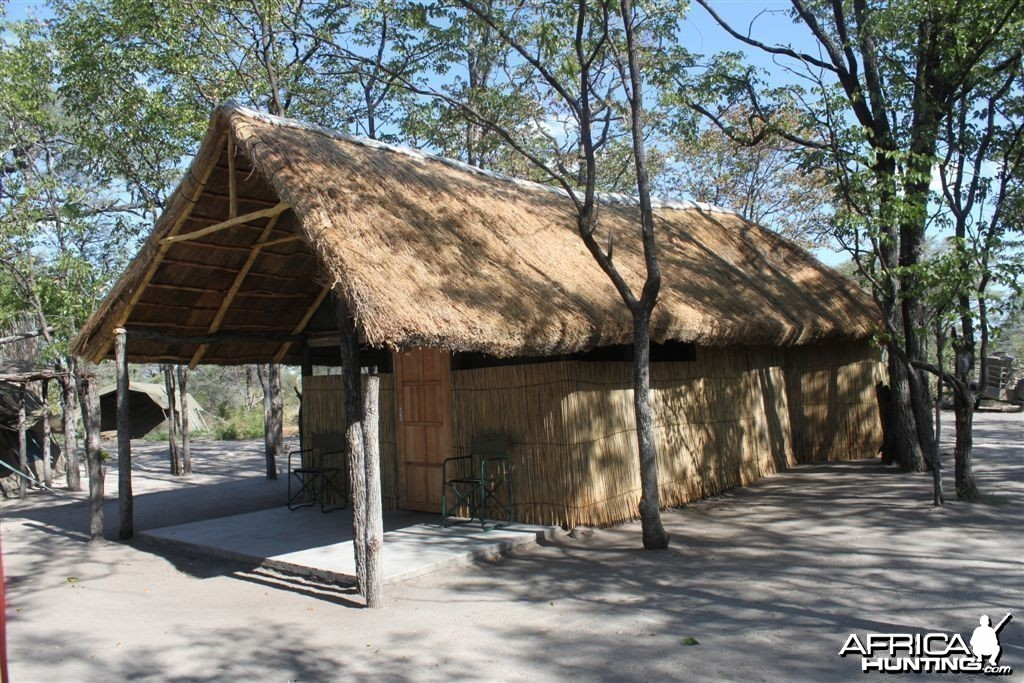 Client bungalow at Sobbe camp in Caprivi Namibia