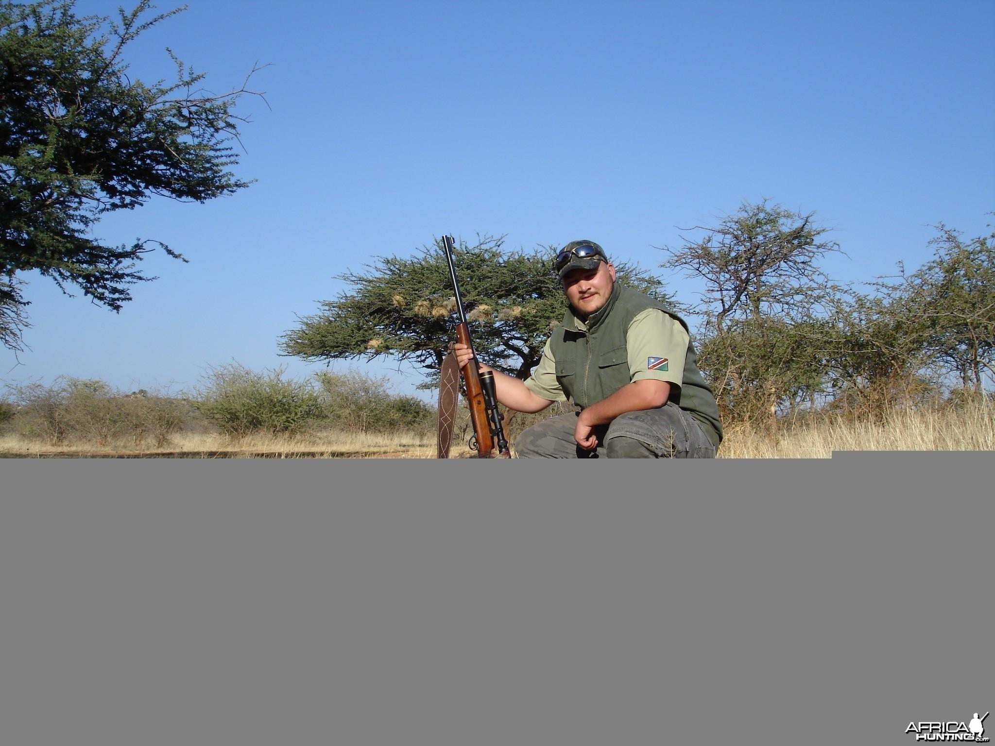 Warthog Namibia hunting 2008