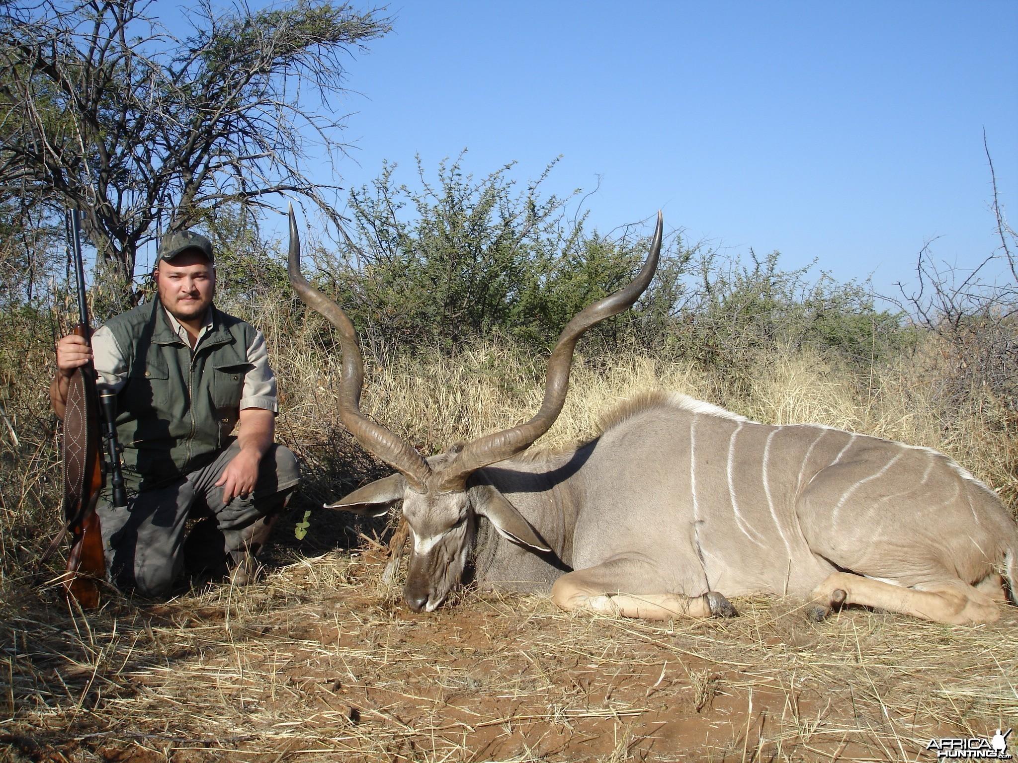 Kudu Namibia hunting 2008