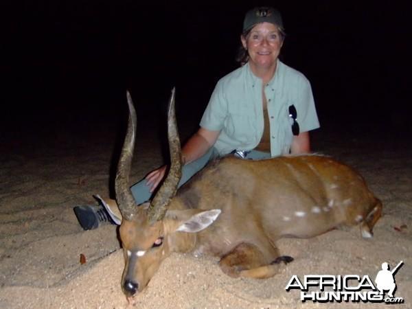 17 inch + Bushbuck taken in Mozambique with Mokore Safaris
