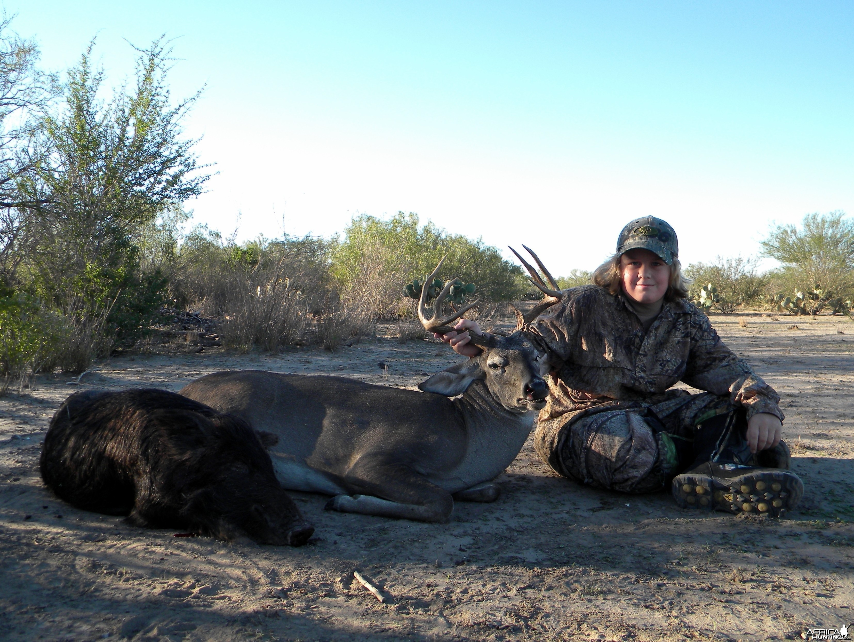 Texas 2009 - Pig and Buck