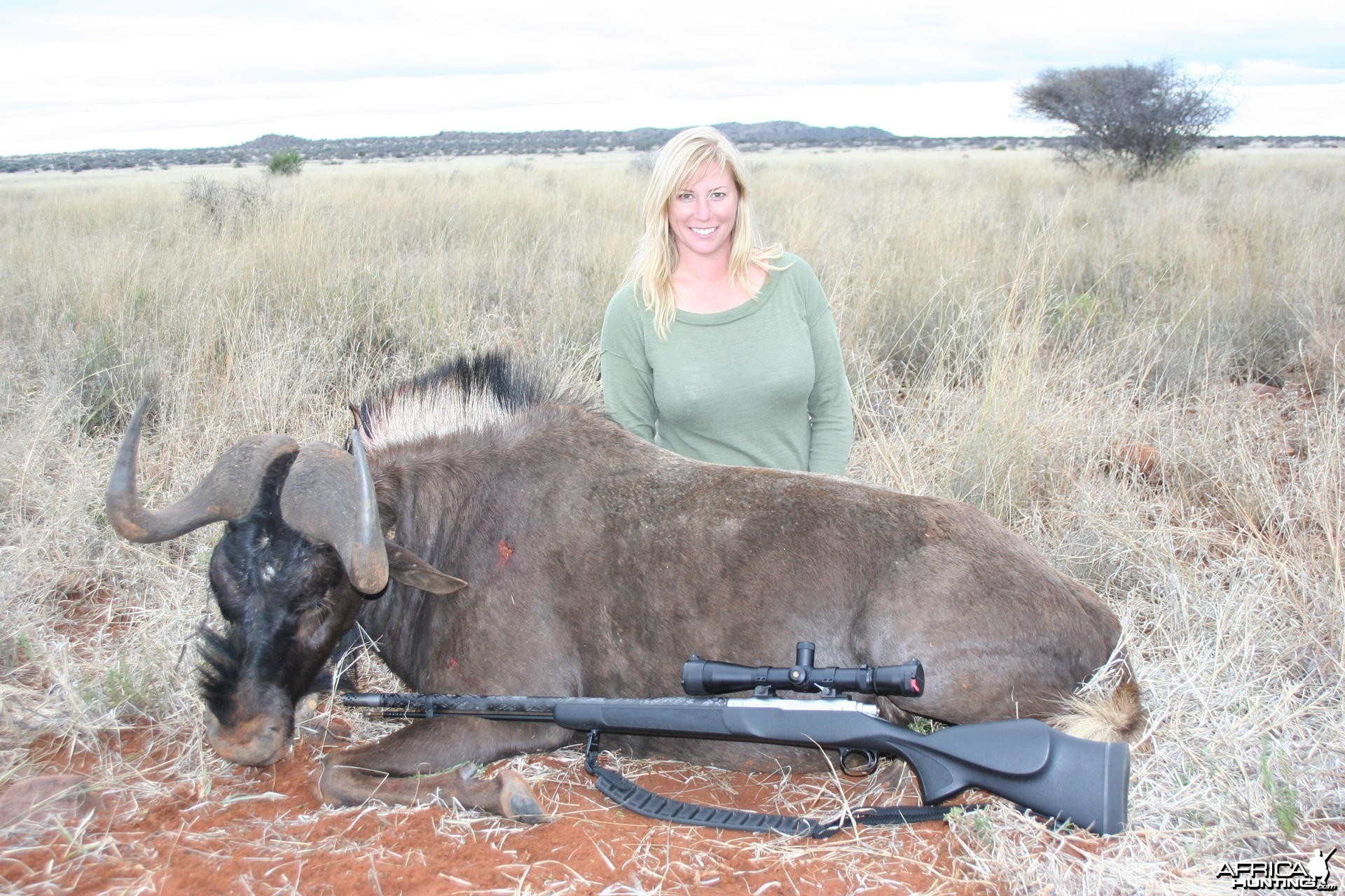 My wife Black Wildebeest