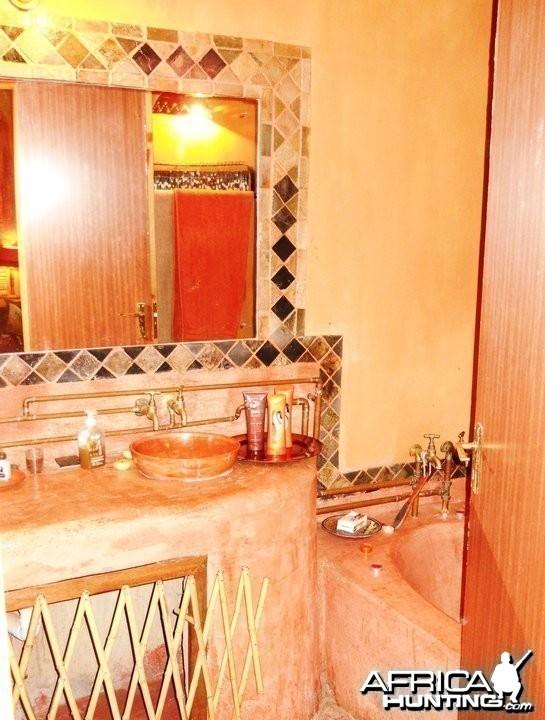Leopard Bathroom