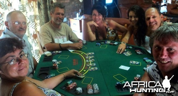 Poker Table with friends