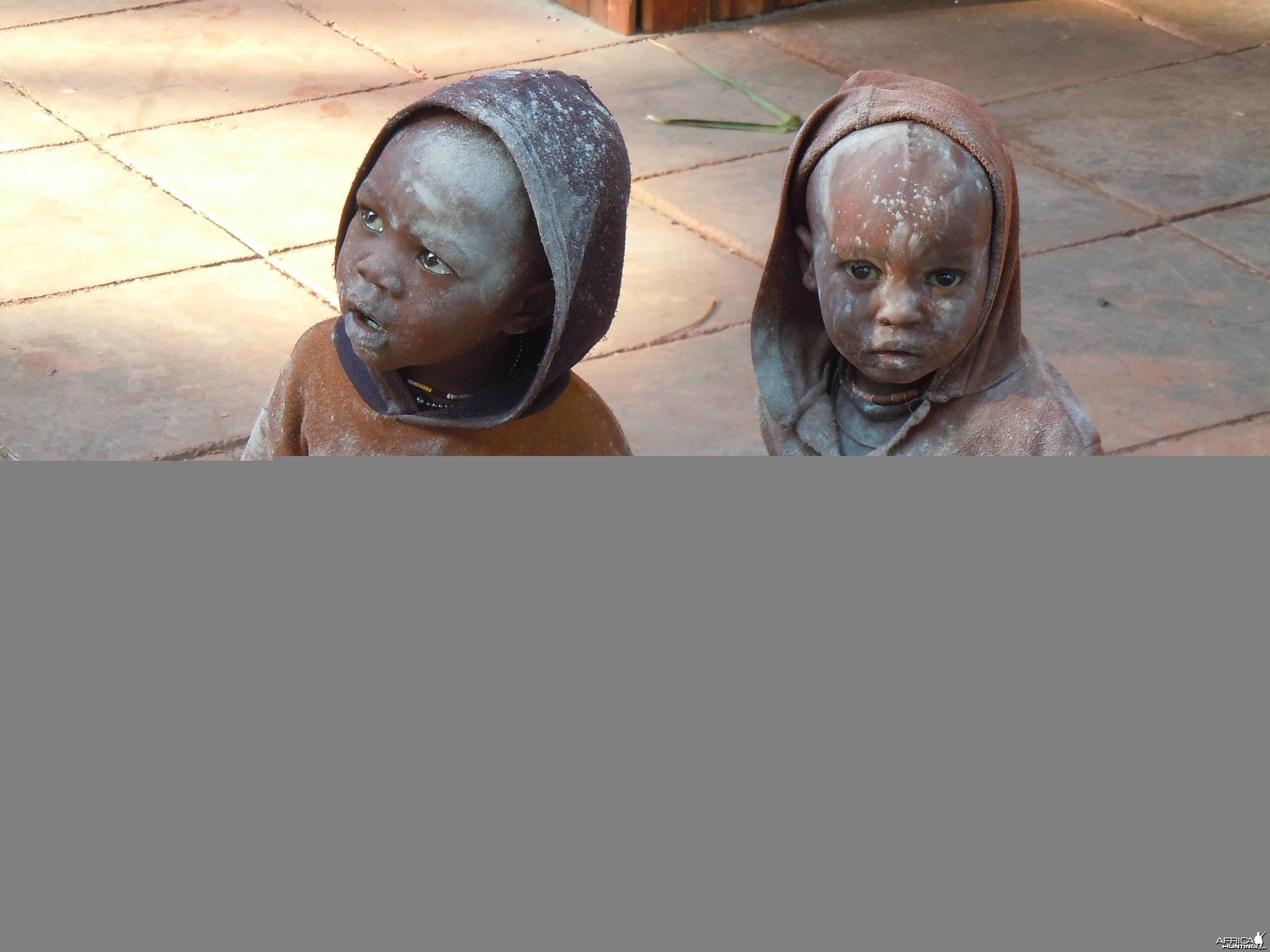 Ovahimba children