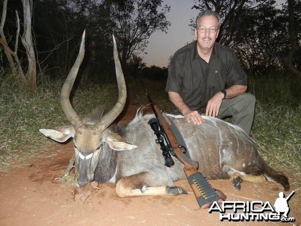 Nyala hunted in Limpopo SA