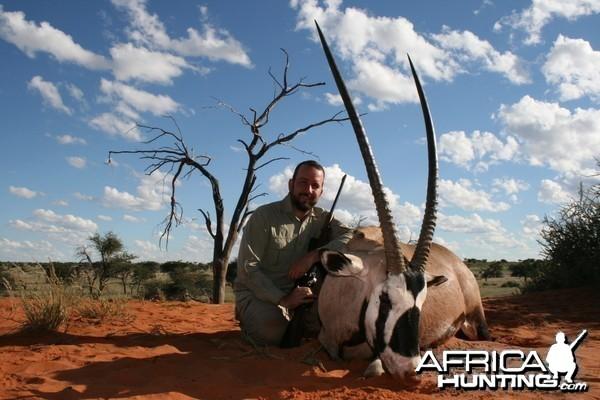Oryx, Kalahari