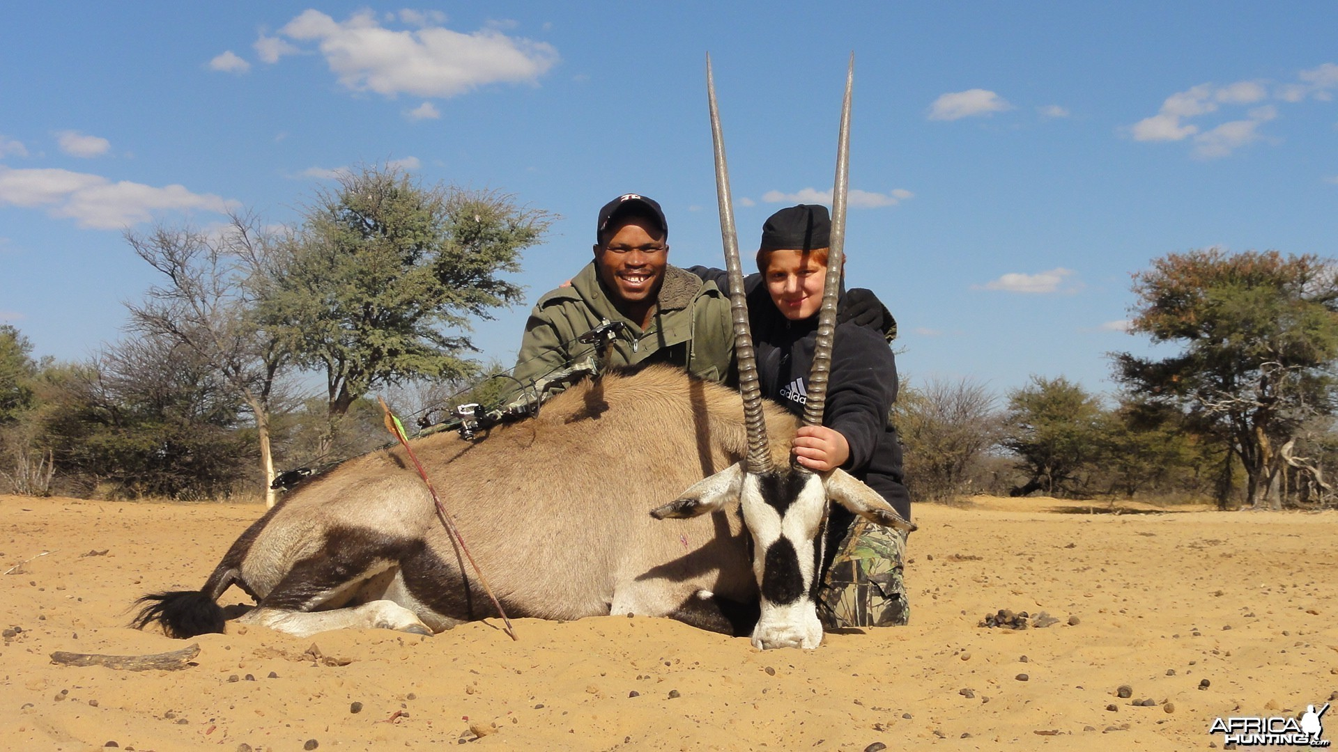 Gemsbok Kalahari Hunt