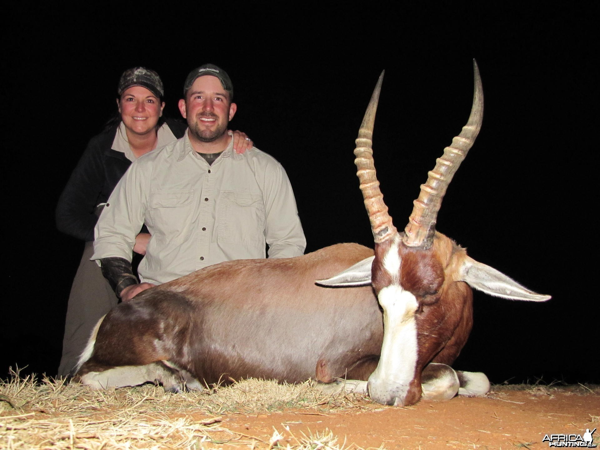 Blesbok hunted with Hartzview Safaris SA