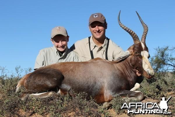 Blesbok taken with Cape Valley Safaris