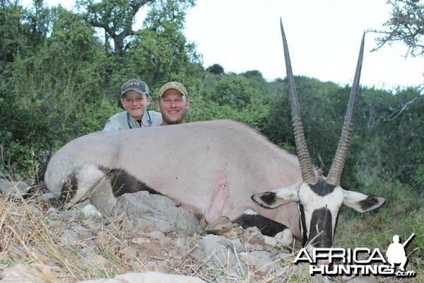 Gemsbok taken with Cape Valley Safaris