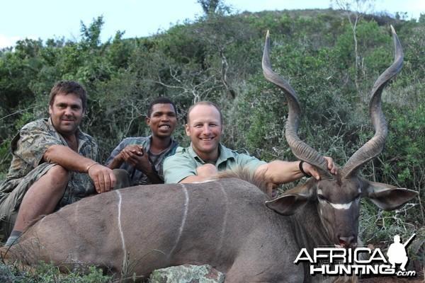 Kudu taken with Cape Valley Safaris