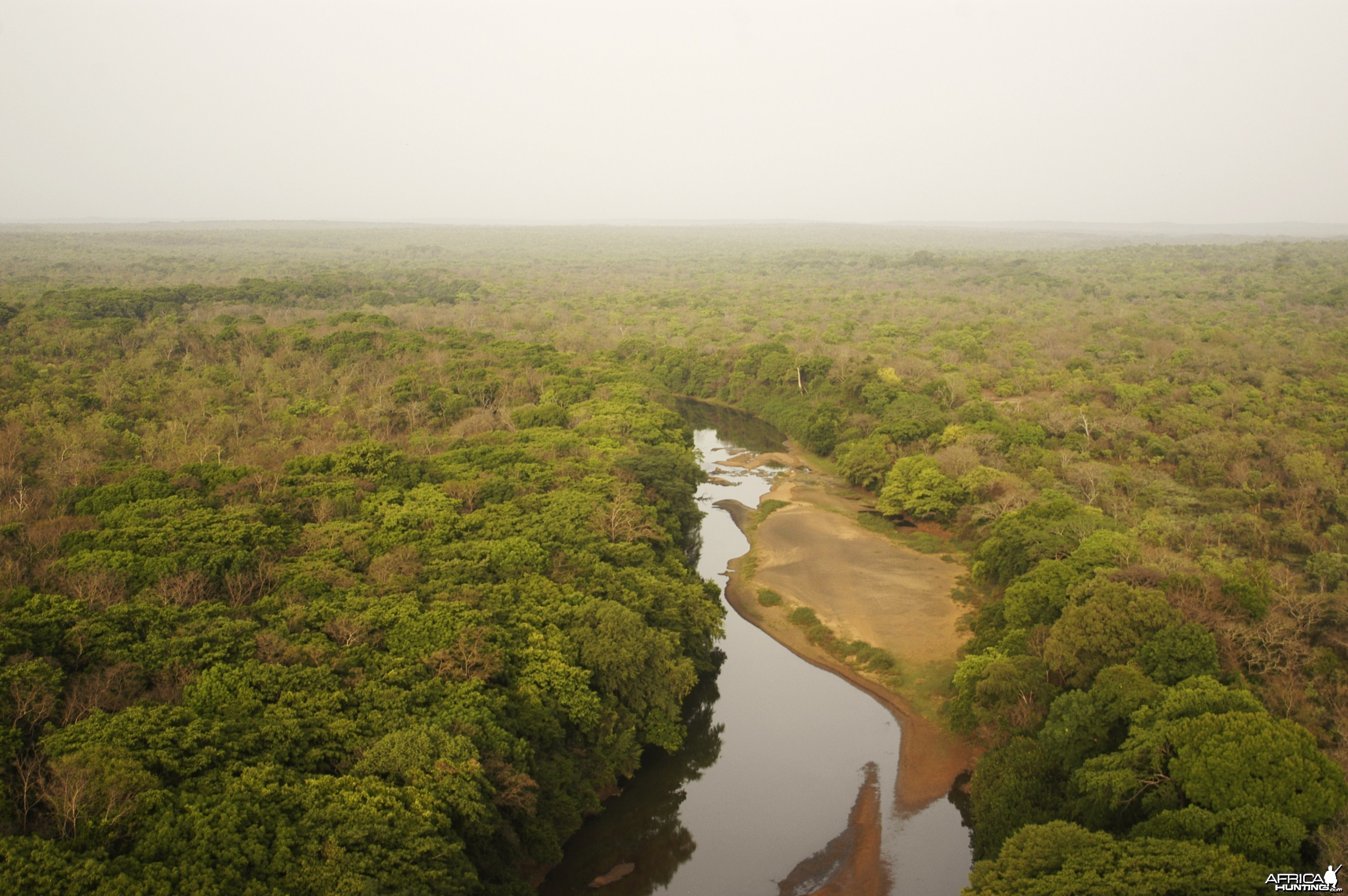 Chinko River in CAR with Central African Wildlife Adventures