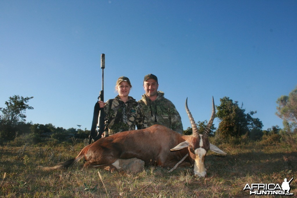 Hunting Blesbok with KMG Hunting Safaris