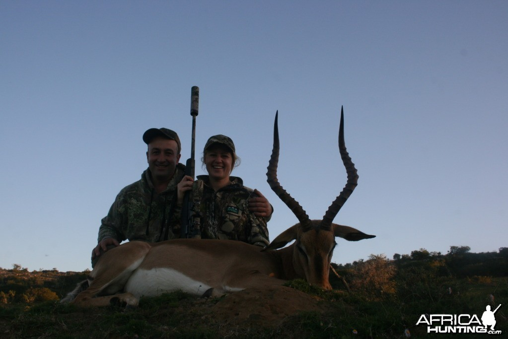 Hunting Impala with KMG Hunting Safaris