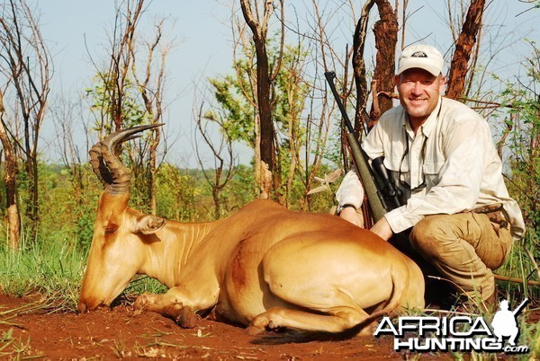 Hartebeest hunted in CAR with CAWA