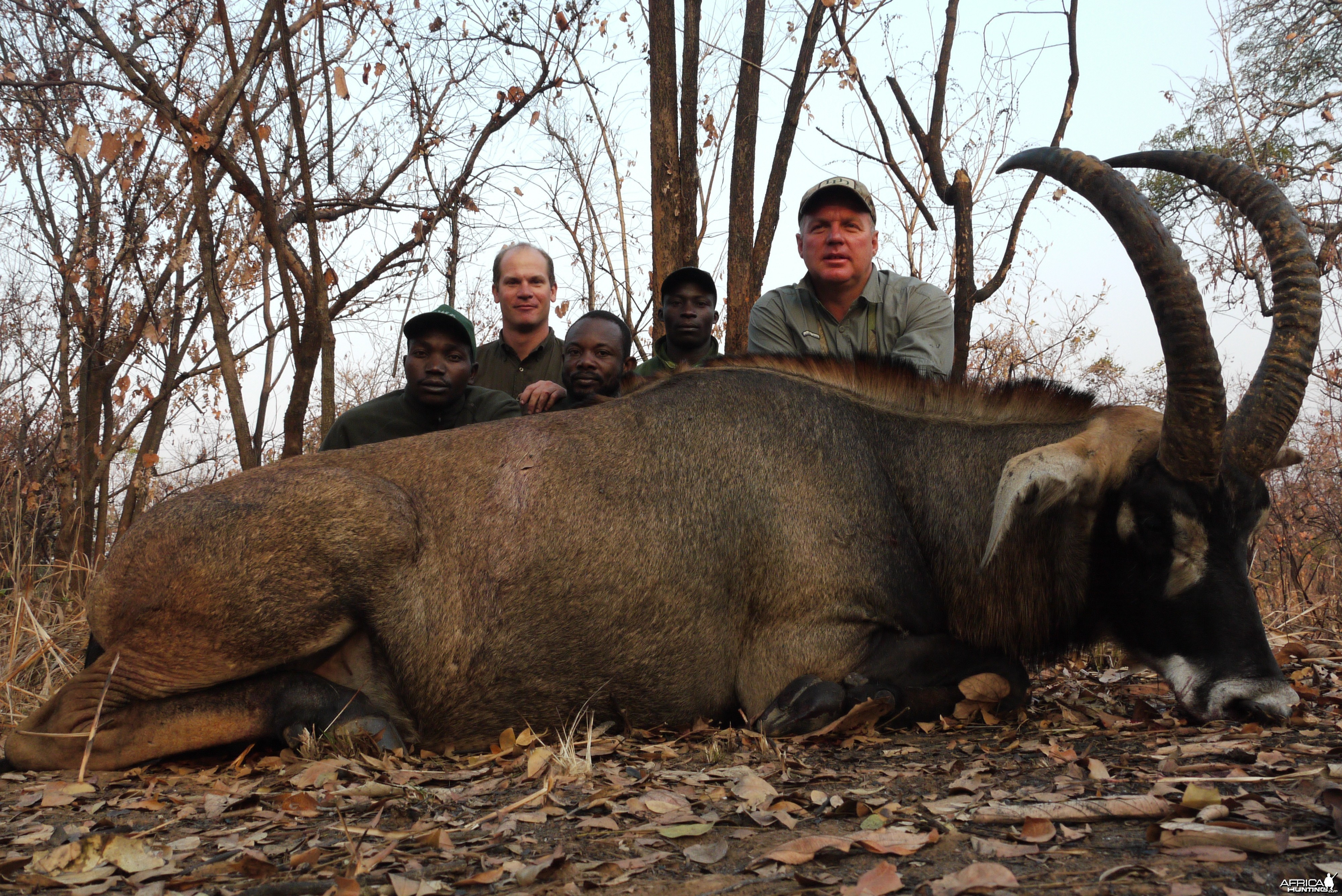 Roan hunted in Central African Republic with CAWA