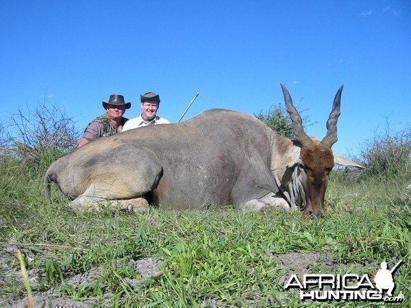 My Eland...thanks again Jerome!