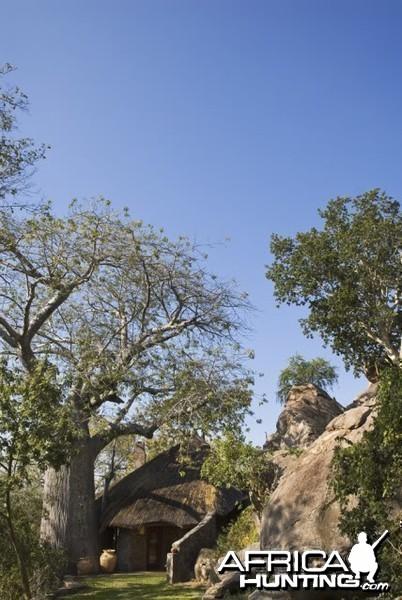 The Sango Lodge in Zimbabwe