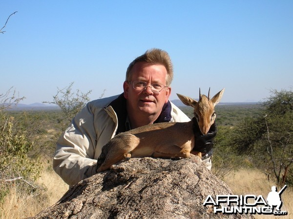 Damara Dik Dik Hunting in Namibia
