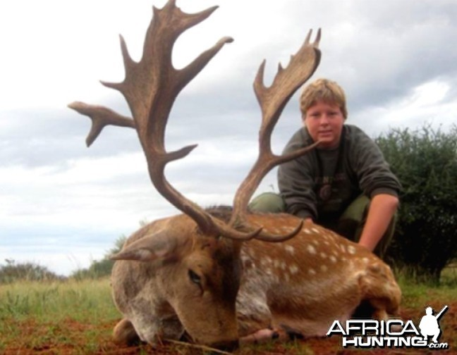 Hunting Fallow Deer with Wintershoek Johnny Vivier Safaris in SA
