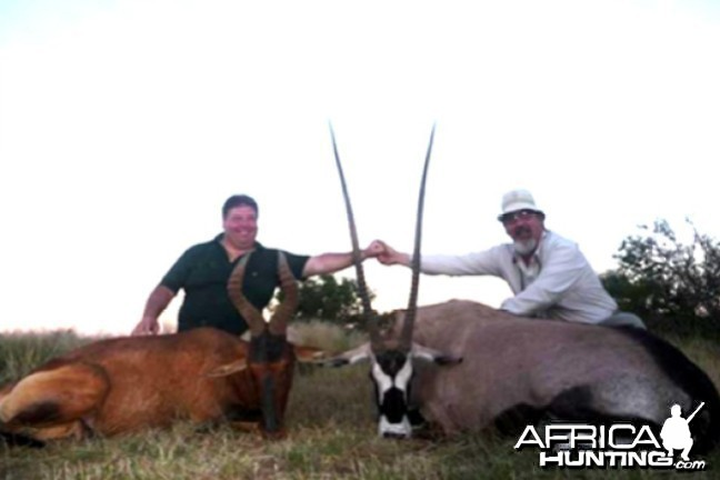 Hunting with Wintershoek Johnny Vivier Safaris in SA