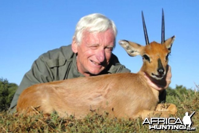 Hunting Steenbok with Wintershoek Johnny Vivier Safaris in SA
