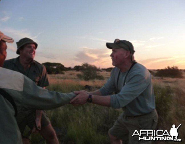 Hunting at Wintershoek Johnny Vivier Safaris in SA